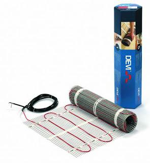 Devimat Underfloor Heating mats - All year round warm floor guaranteed