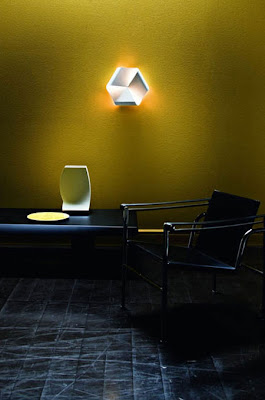 Nemo Endless Wall Light - white metal wall lamp, application