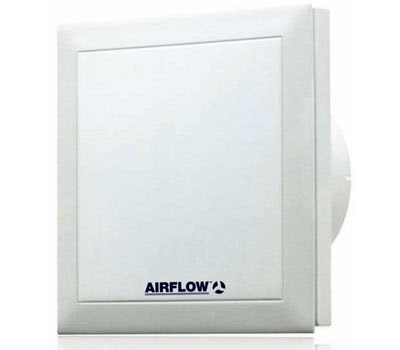 Airflow QuietAir Axial Fan, Low Energy Quiet Extractor Fan - the Airflow QT100