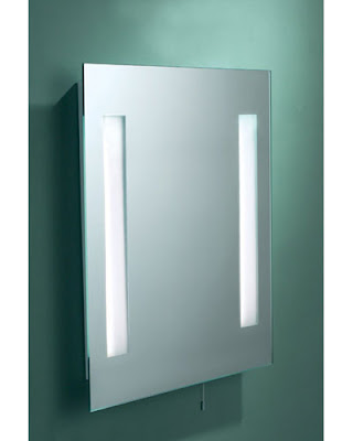 The Image Low Energy Bathroom Mirror with Light, Image IMA89 Mirror Light