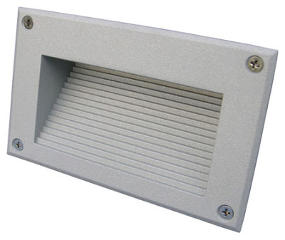 The BR16 Recessed LED Indirect Brick Light, stainless steel eyelid bricklight - £12.00