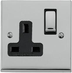 Heritage Brass LP1.840 - The Richmond Elite low profile Single 13 Amp Socket