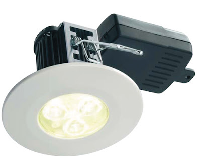 Energy Saving Fire-Rated LED Downlights, the EvoLED shower lights