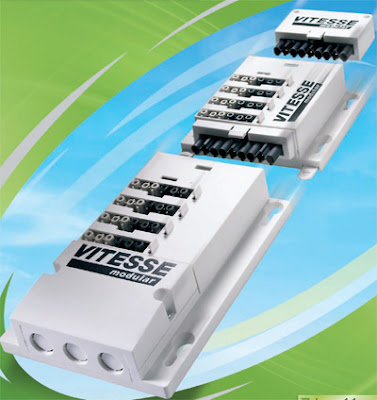 The Vitesse Modular 4 - Lighting Distribution System for Switching from CP Electronics
