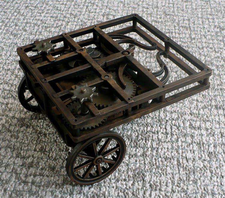 Self Propelled Cart >> The Great Canadian Model Builders Web Page Leonardo Da Vinci S