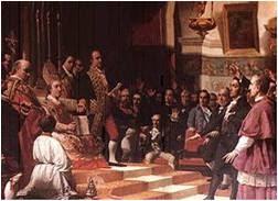 Juramento de los diputados de las Cortes de Cádiz