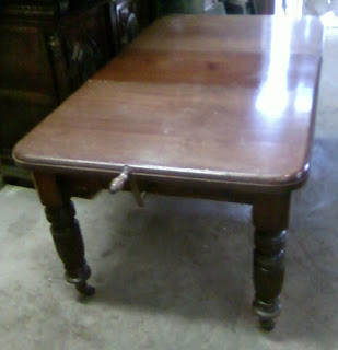 john mark power, antiques conservator: expanding dining room table