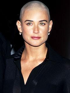 Something is. Noemie lenoir shaved head will not