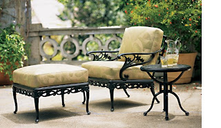 Dining Alfresco Is Lovely, But Outdoor Furniture Is Always So Drab. Enter Brown  Jordan! How Gorgeous Is This?!?