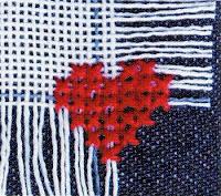 вышивание, вышивка, понятия и термины вышивания,  техники вышивания, удаляемая канва, накладная канва