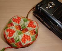 вышивание, вышивка, понятия и термины вышивания, бискорню, biscornu