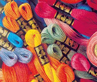 вышивание, вышивка, понятия и термины вышивания, мулине, нитки для вышивания.