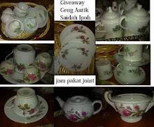 Give Away Geng Antik Saidah Ipoh