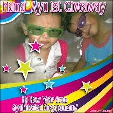 mama_ayu 1st giveaway...
