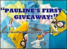 PAULINE'S FIRST GIVEAWAY
