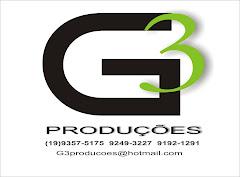 G3 PRODUÇOES A SUA MARCA!!!GRAVE CONOSCO SUAS VINHETAS