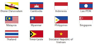 Southeast Asian Flag Southeast Asian Ministers of