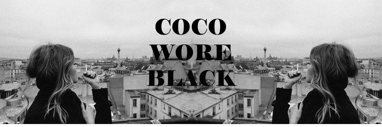 Coco Wore Black