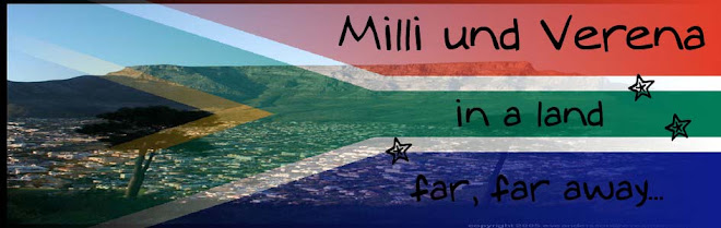 Milli und Verena in Kapstadt