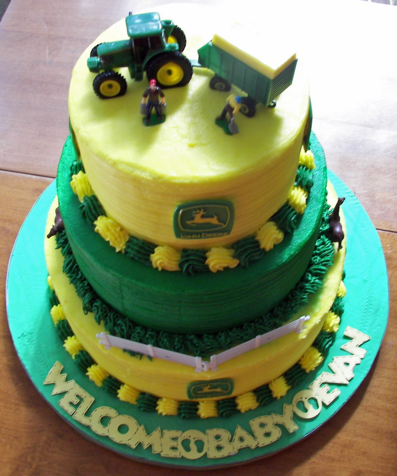 Musings Of A Crafty Mom John Deere Themed Baby Shower