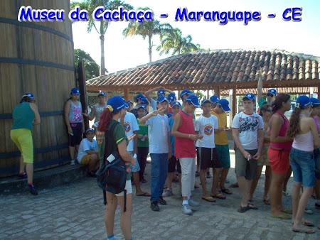 ESCOLA DA TERRA EM AULA DE CAMPO - MARANGUAPE - CE