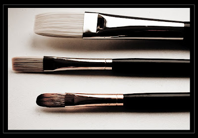 best brush for acrylics and water mixable oil paint