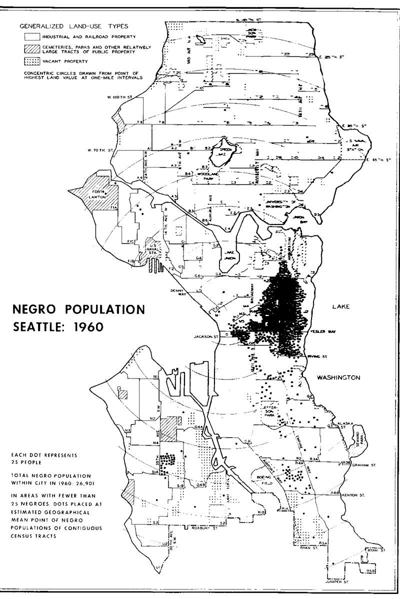 segregation maps here is a set of detailed maps showing residential locations for blacks chinese filipinos japanese jews hispanics