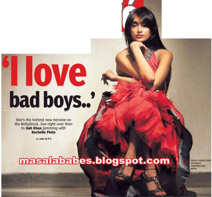 , Hot and Sexy Jiah Khan Latest Unseen Scans | Pictures