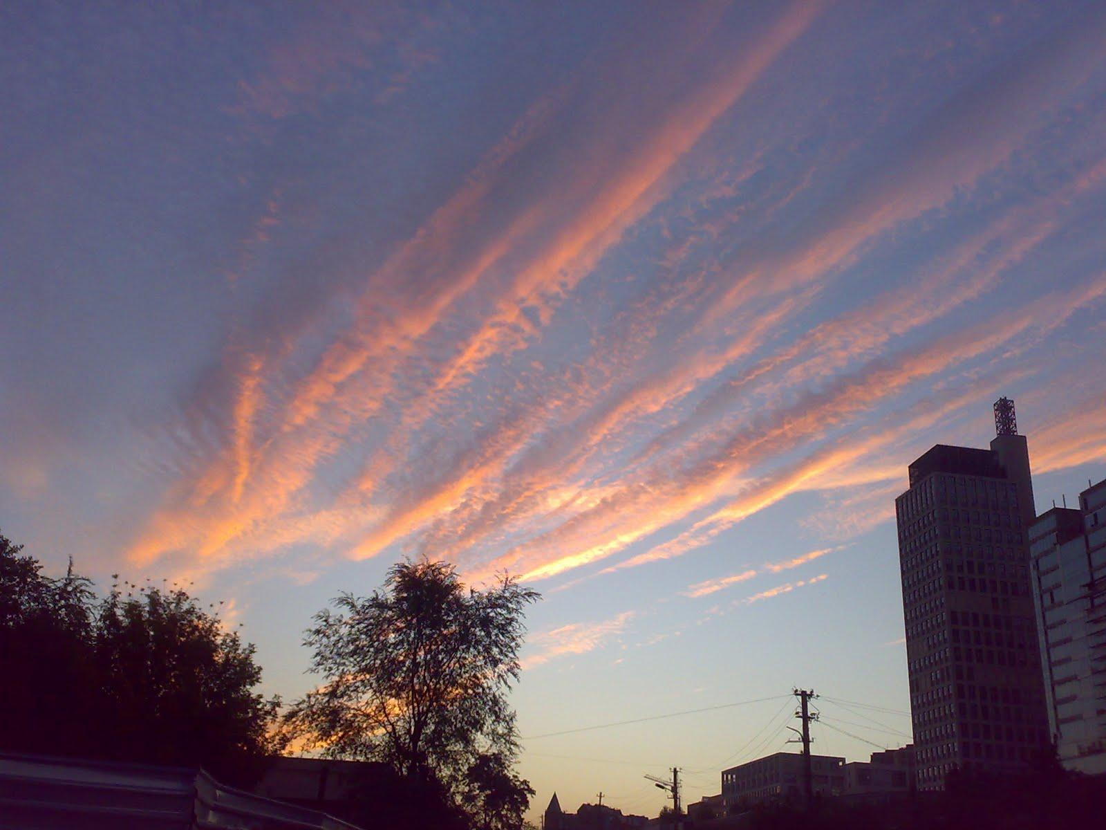 Небо Днепропетровск