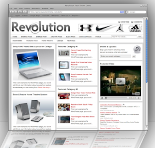 revolution tech theme