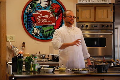 Chef Danny Cohen Santa Fe School of Cooking