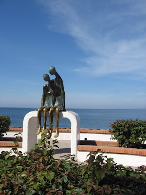 Puerto Vallarta beach sculpture