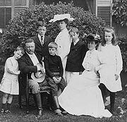 Theodore Roosevelt and Family in 1903