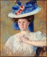 Portrait of Helen Sears by Mary Cassatt