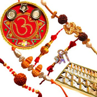 Rakhis India Kids Gold Pearl Rakhi Zardosi