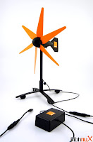 Orange Wind Charger, Charger, Wind