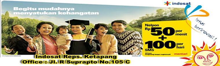 Indosat Reps Ketapang