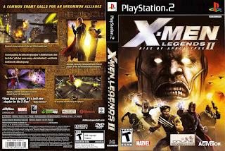 X-Men Legends II: Rise of Apocalypse  PS2 | NTSC