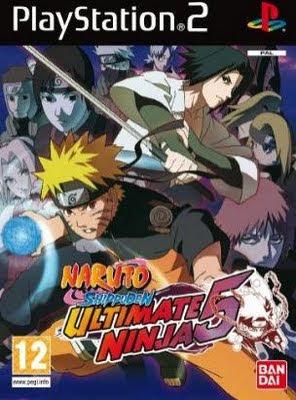 Naruto Shippuden Ultimate Ninja 5   PS2