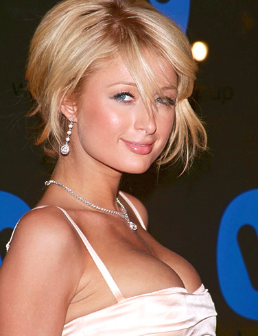 Paris Hilton 2010 Short Bob Hairstyles for Girls