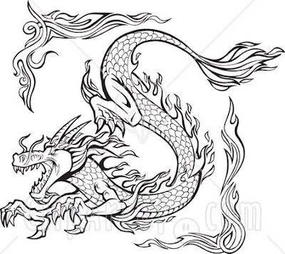 Dragon Tattoos Pictures on Black Tattoo Designs  Dragon Tattoo Designs For
