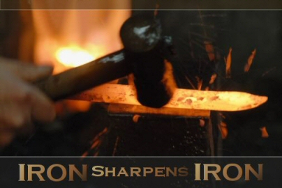 Jonny\'s Blog: Daily Devotional: Iron Sharpens Iron-New Year