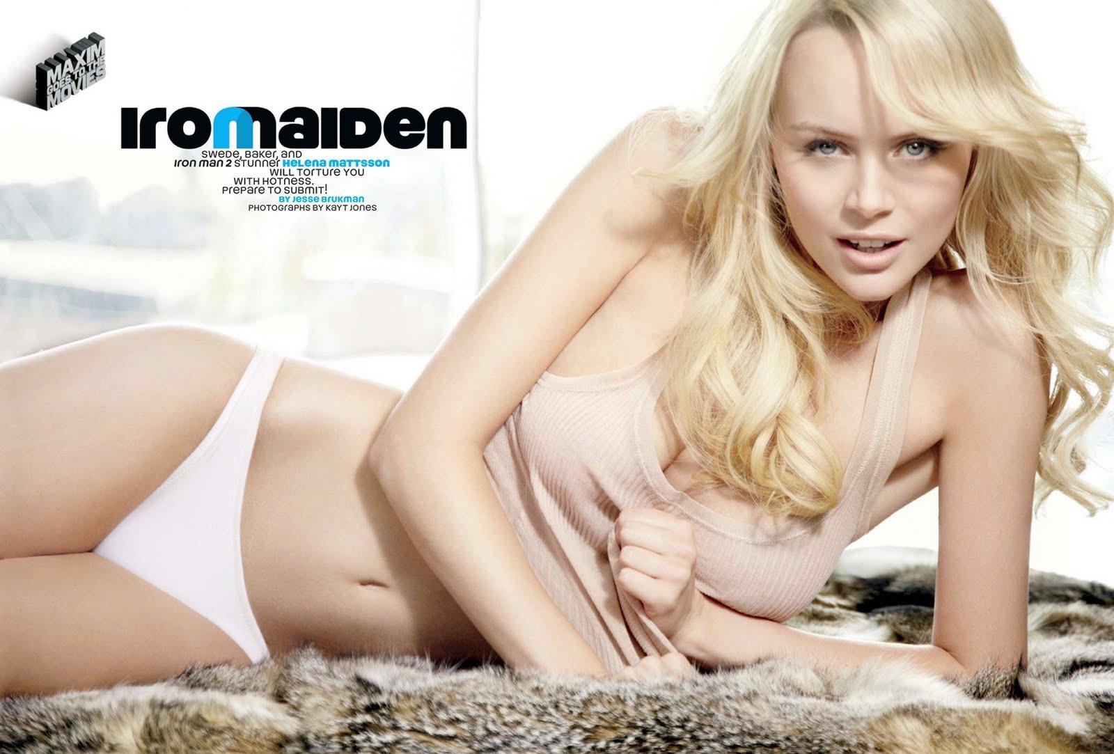 Helena Mattsson Iron Man 2