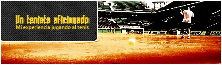 Un tenista aficionado