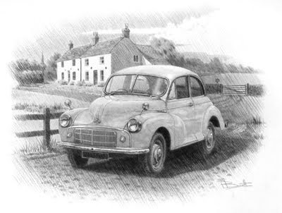 Classic Morris Minor Cars