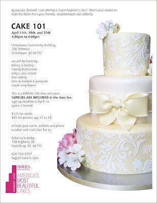 Cake Flyer Templates