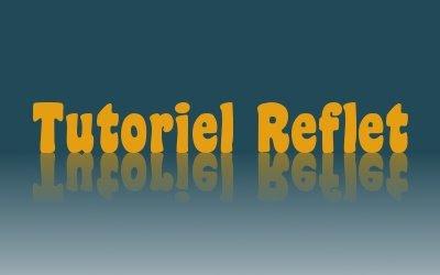Gimp effet reflet for Effet miroir sur photoshop