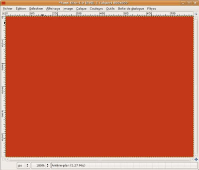 affichage fond rouge manga