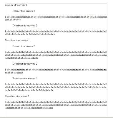 Styles de titres et num rotation automatique - Pagination automatique open office ...