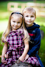 Brayden & Sienna - October 2010